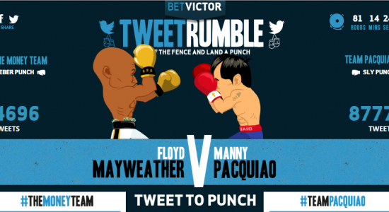 combat Floyd Mayweather Boxe Manny Pacquiao Twiter