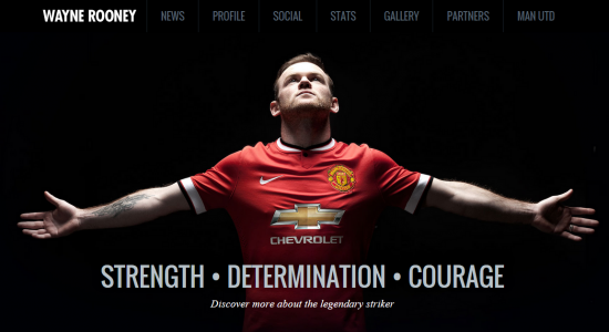 Wayne Rooney Website Manchester United