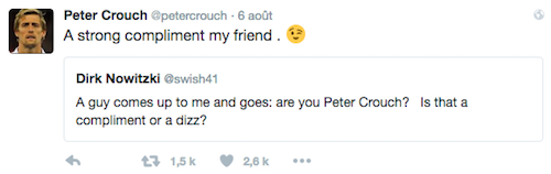 Peter Crouch Twitter