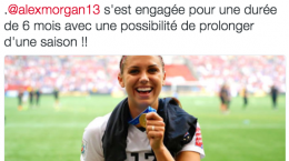 alex morgan twitter