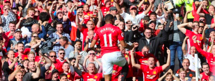Anthony Martial Facebook Manchester United Bannières