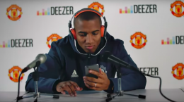 deezer manchester united football