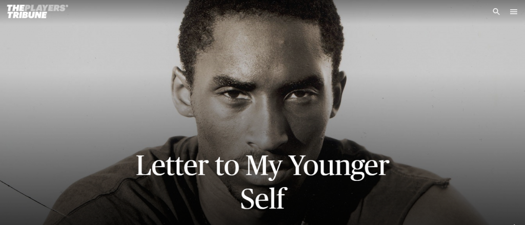 Kobe Bryant The Players Tribune